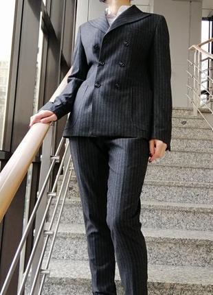 Шерстяной костюм takeshy kurosawa 44, 48р.