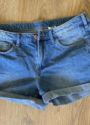 Джинсові шорти, короткі шорти, сині denim