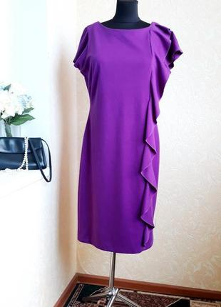 Трикотажное яркое платье betty jackson