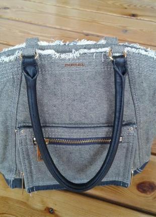 Новая джинсовая сумка diesel