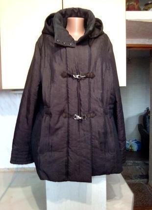Немецкая куртка деми \ еврозима loft, европейское качество, тройная застежка,цвет шоколад