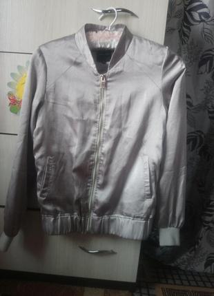 Бомбер куртка ветровка косуха