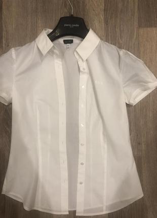 Рубашка с коротким рукавом armani jeans {армани} оригинал