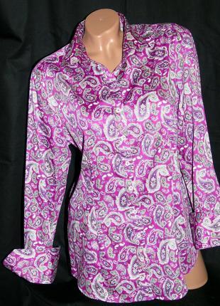 Franco callegari шикарная рубашка в принт - xxl - xl
