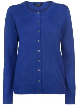 Женска кофта синий кардиган miso