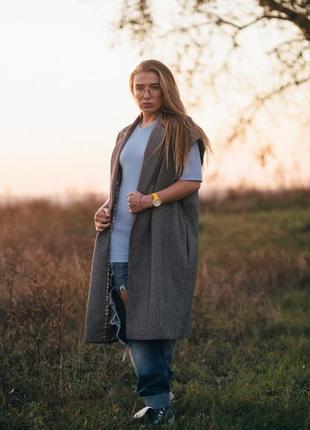 Жилет пальто украина италия много моделей md vera натуральная шерсть