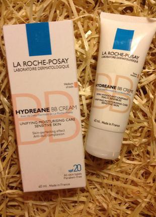 Bb крем для чувствительной кожи la roche posay hydreane bb cream уценка!