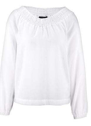 Непринужденно и романтично – свободная блузка от tchibo, германия