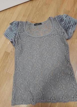 Блуза кружевна
