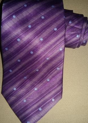 Красивый,стильный галстук от бренда lanvin.оригинал