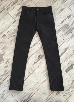 Котоновые брюки slim casual