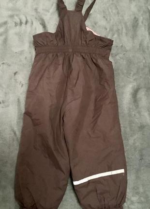 Зимний комплект lenne (куртка + полукомбинезон) , размер - 86см