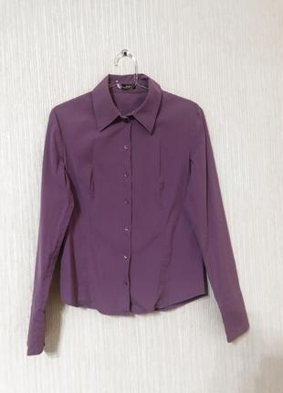 Hugo boss оригинал женская рубашка блуза яркого лавандового цвета
