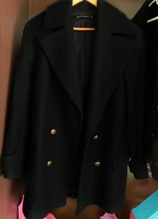 Теплое пальто zara1 фото