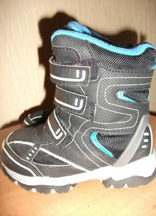 "Зимние сапоги, ботинки ""tu"" р. 11 (стелька18,5 см)"