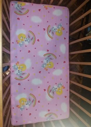 Кокосовый матрасик в детскую кроватку
