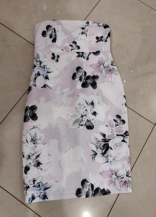 👑♥️final sale 2019 ♥️👑   нежное миди платье бандо с цветочным принтом для беременных