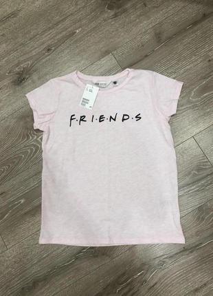Новая футболка friends h&m оригинал