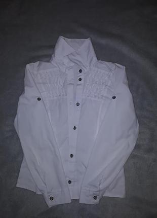 Стильна, біла сорочка!