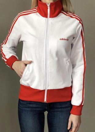 Белая олимпийка біла олімпійка adidas originals