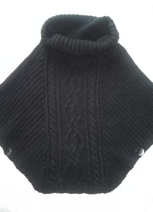 Итальянский  мега- свитер  накидка.