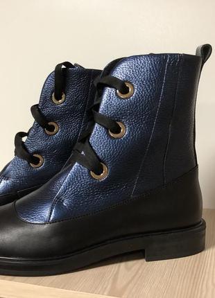Ботинки деми кожа со скидкой -50% от цены