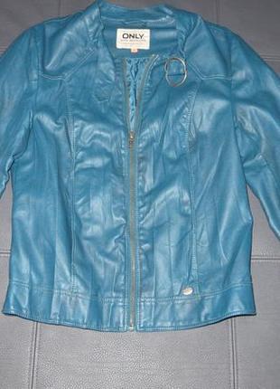 Женская куртка экокожа only, xs-s