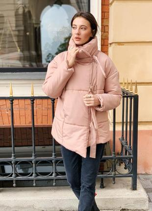 Распродажа ! зимняя куртка пуховик одеяло  песок1 фото