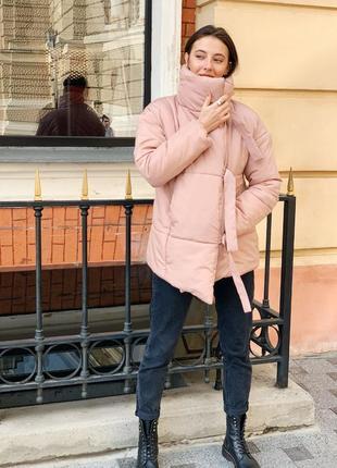 Распродажа ! зимняя куртка пуховик одеяло  песок4 фото
