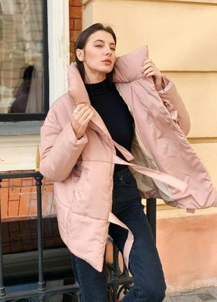 Распродажа ! зимняя куртка пуховик одеяло  песок5 фото
