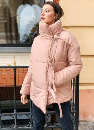 Распродажа ! зимняя куртка пуховик одеяло  песок6 фото