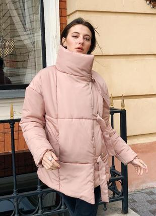 Распродажа ! зимняя куртка пуховик одеяло  песок7 фото