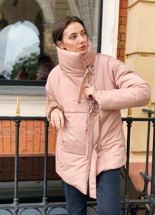 Распродажа ! зимняя куртка пуховик одеяло  песок8 фото