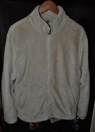 Кофта теплая меховая куртка