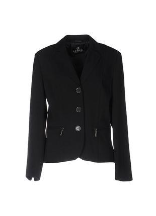Винный шерстяной пиджак-кофта lebek