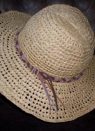 Шляпка летняя divided h&m размер универсальный