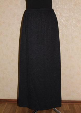 Трикотажная длинная юбка недорого скидка распродажа sale