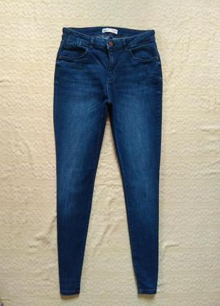 Стильные джинсы скинни с высокой талией clockhouse, 38 размер.