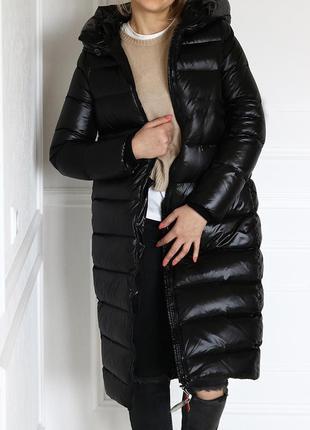 Настоящий теплый зимний пуховик, кокон9 фото