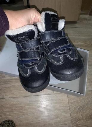 Зимние ботинки сапожки внутри овчина натуральная р.31