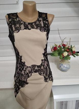 Плаття з вставками кружева