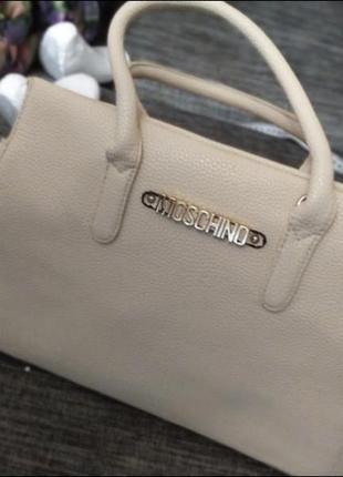 Красивая сумка moschino
