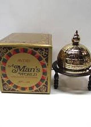 Винтажный парфюм для мужчин, редкость, avon a man's world + подарок