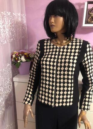 Красивый пиджак блейзер вышивка