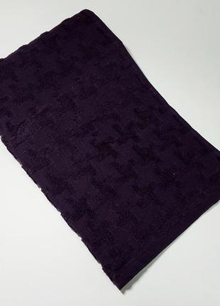Полотенце махровое турция 50 на 90 см фиолет