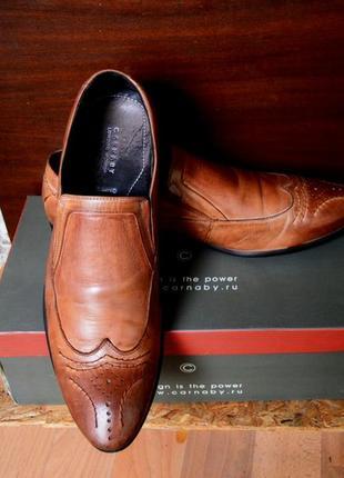 Стильные туфли лоферы carnaby ручной работы