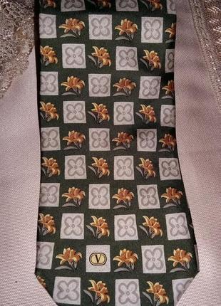 Номерной брендовый галстук от valentino.италия.оригинал