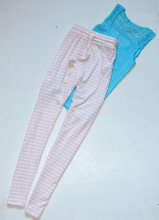 Классные пижамные штаны от известного бренда