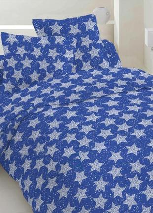 Комплект постельного белья, все размеры,  звезды