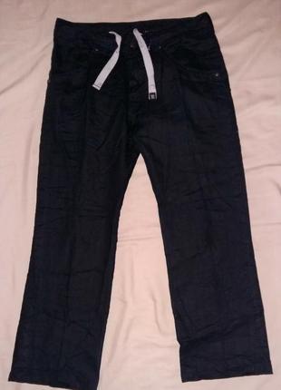 Льняные модные брюки от бренда calvin klein jeans.оригинал